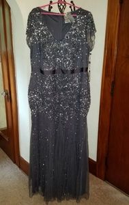 Adrianna Papell dress size 20 NWT *has some damage
